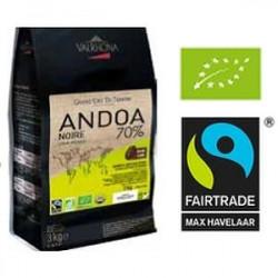 Andoa noir 70% 400 gram
