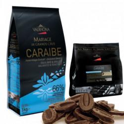 Caraibe 66% 3000gr. pellets