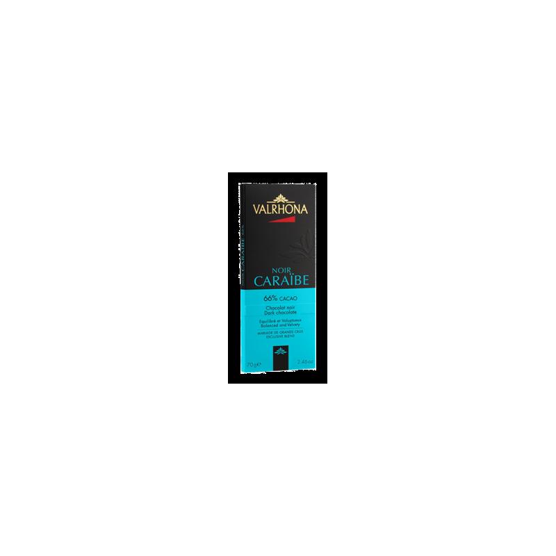 Caraibe 66% 70 gr kaka